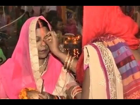 Chhath Pooja: People offer prayers to Sun God