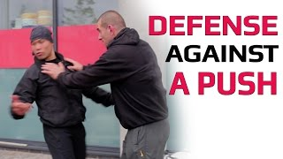 How to defend someone pushing