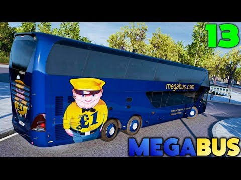 Fernbus Coach Simulator - MEGABUS Stopping Service to Bonn - #13