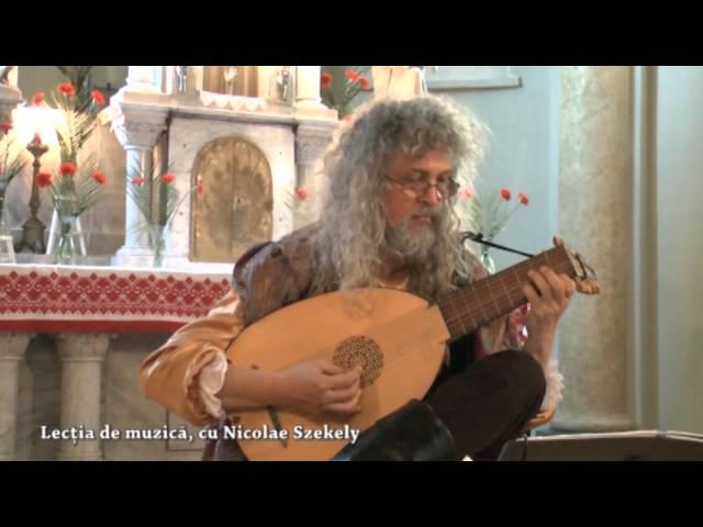 Greensleeves - Nicolae Szekely, lute