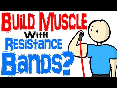 Gain Muscle Mass Resistance Bands
