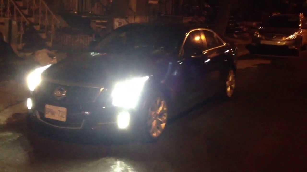 Cadillac Ats Night Youtube