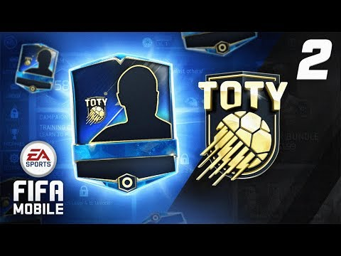 INSANE TOTY ATTACKER PACKED! - FIFA Mobile RTG #02