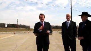 txdot geren johnson announce sh 199 bridge construction