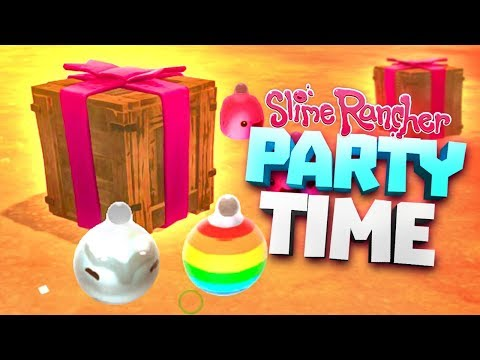 GIFT BOXES AND ORNAMENTS! - Slime Rancher Party Gordo Update