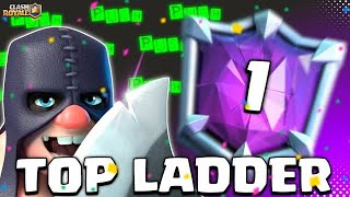 END SEASON LADDER PUSH - Clash Royale