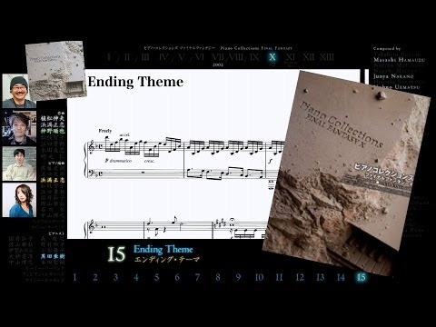 [Scrolling Sheet] Piano Collections: Final Fantasy X -Full Album PLUS-
