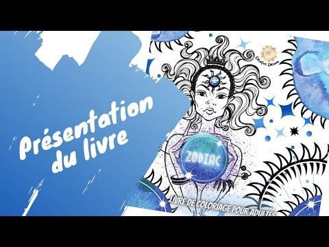 Zodiac - livre de coloriage - Creative Dreams coloring books