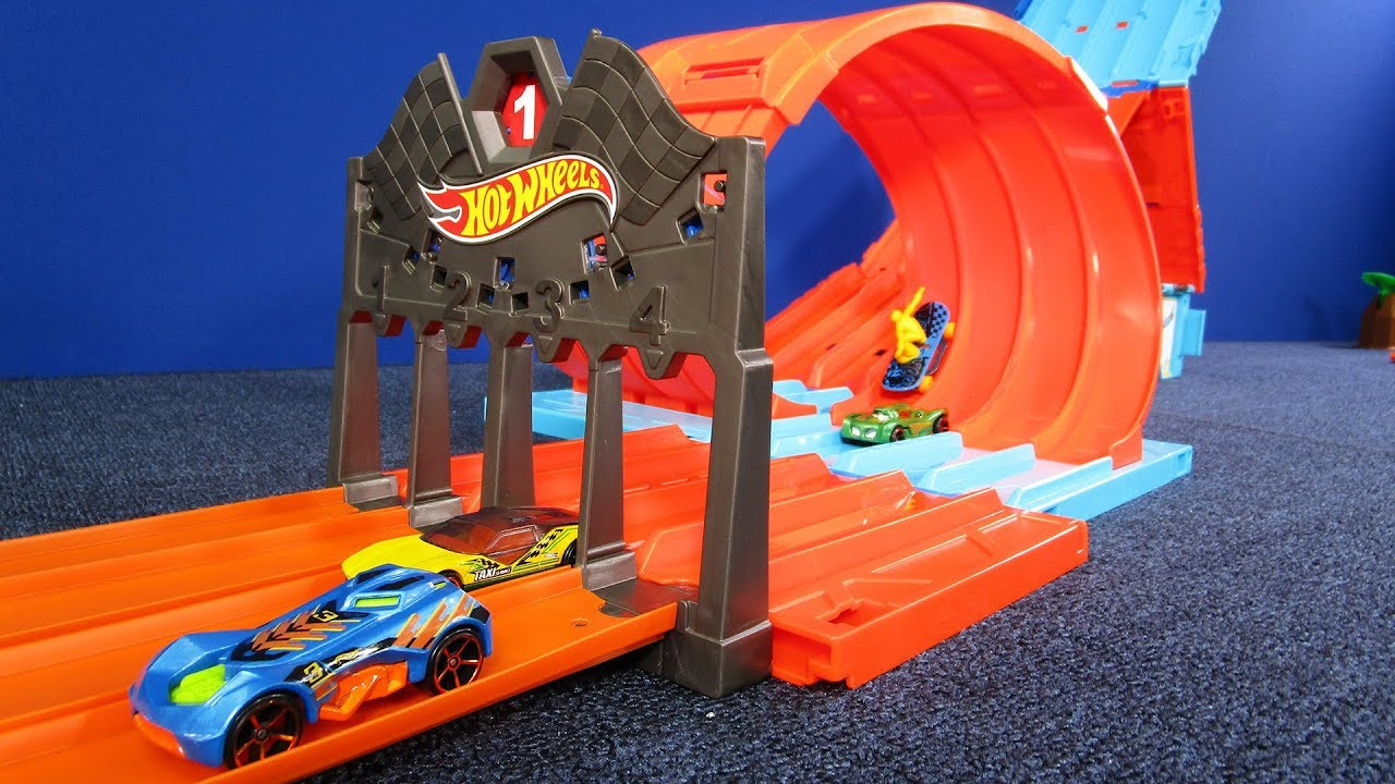 Hot Wheels Race Crate New For 2018 Hot Wheels Track Set Review By