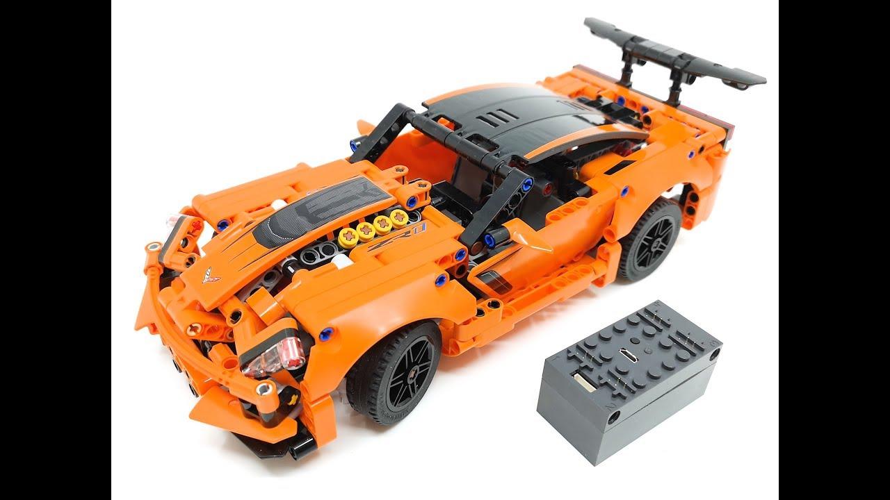 LEGO® 42093 Chevrolet Corvette ZR1 MOD + Instructions   Buwizz