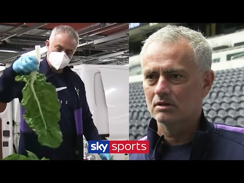 EXCLUSIVE! A Day With Jose Mourinho during lockdown