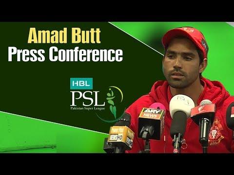 HBL PSL 4 | Match 18 Karachi Kings vs Islamabad United Post Match Press Conference | Amad Butt