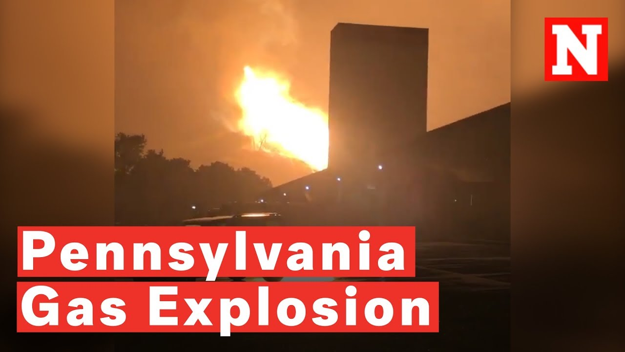 Energy Transfer Pipeline Explodes in Pennsylvania - EcoWatch