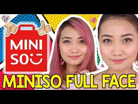 FULL FACE MINISO MAKEUP | Okay ba sa Mini-so?! | Mae Layug 2018