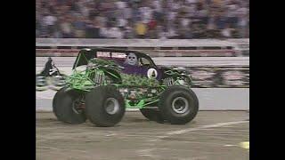 Freestyle Grave Digger pt  3 Monster Jam World Finals 2001