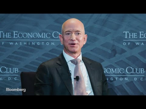 Jeff Bezos Says Amazon Stock Is 'Not the Company'