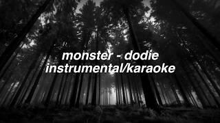 monster - dodie (Karaoke/Instrumental)