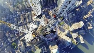 Final spire placed on One World Trade Center