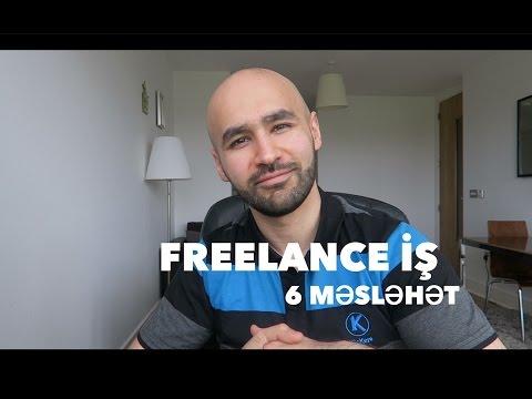 2ci hisse - Freelance is haqqinda 6 meslehet
