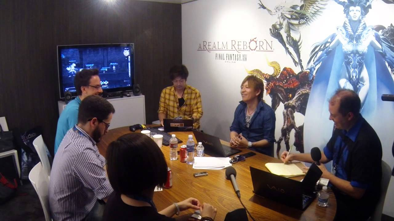 E3 2014 Final Fantasy XIV Interview YouTube