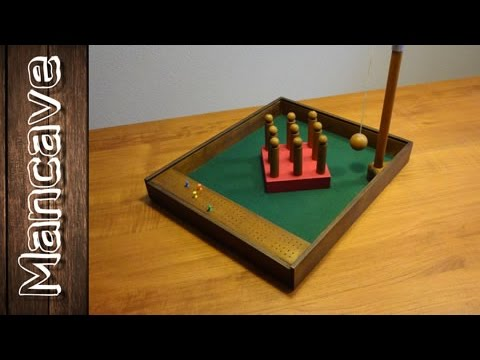 How to make a table skittles bowling game youtube how to make a table skittles bowling game solutioingenieria Images