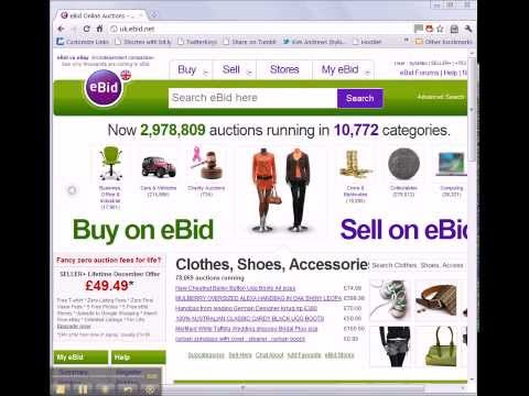 How To Add A Payment Method To All Your Auctions - eBid How To Video