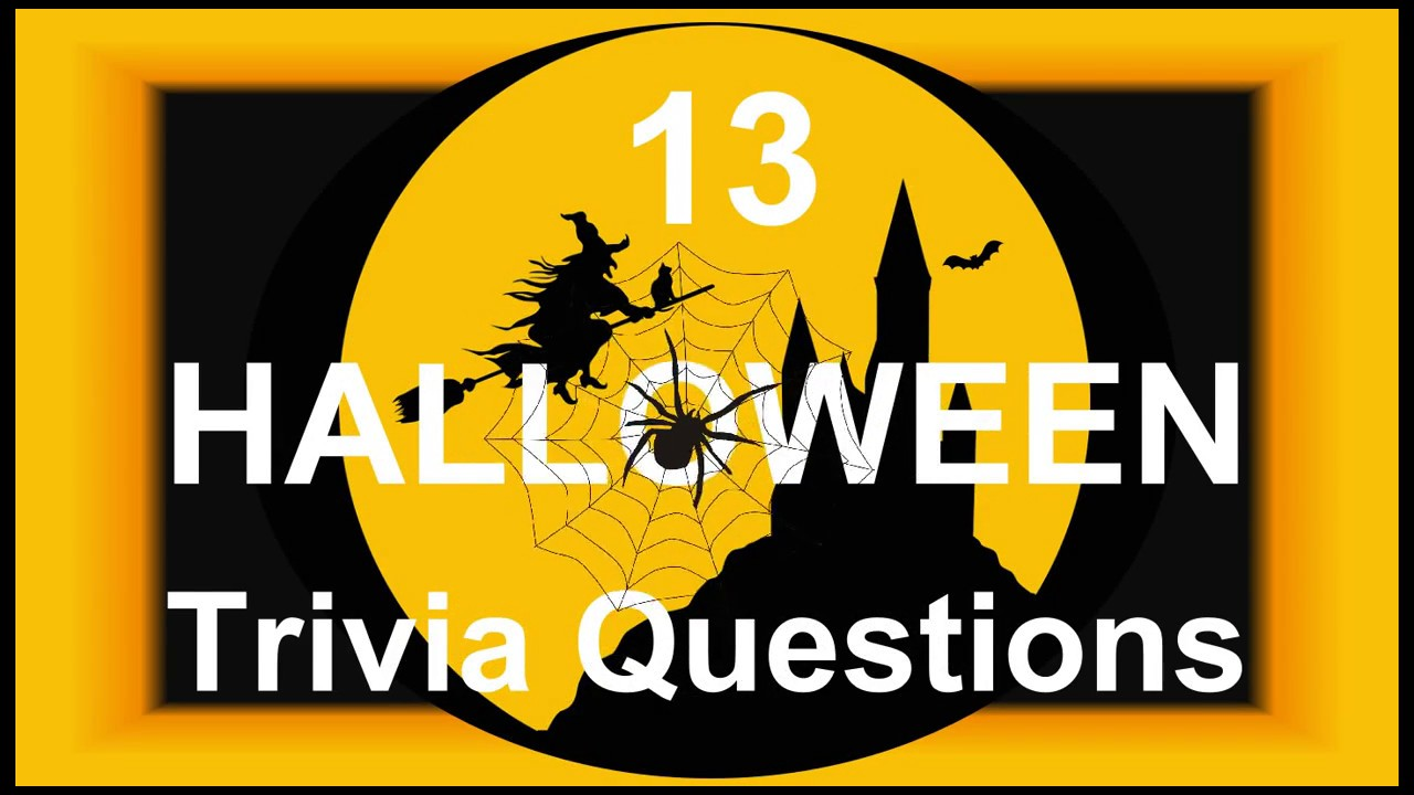 Halloween Trivia Questions Answers Fun Facts 2020