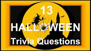 13 Halloween Trivia Questions 🎃 | Trivia Questions & Answers |
