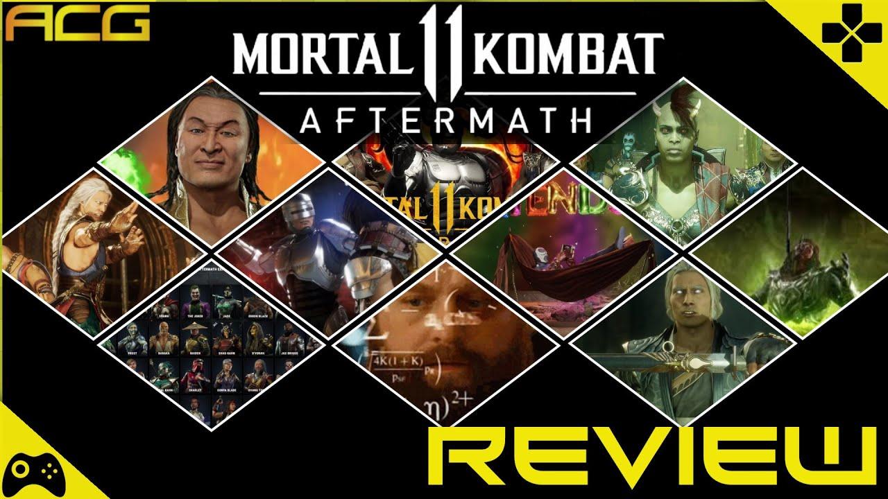 Mortal Kombat 11 Aftermath Review Buy Wait For A Sale Never