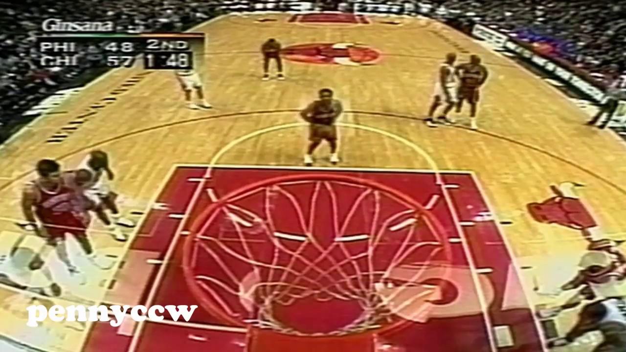 595893032b83 Allen Iverson 40pts Game Special - Game 1 44pts vs Michael Jordan the Bulls  (1997)