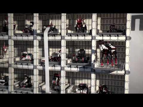 LEGO® MINDSTORMS® EV3 inspirace: SHOWCAS3 – Robotická LEGO vitrína od Erica