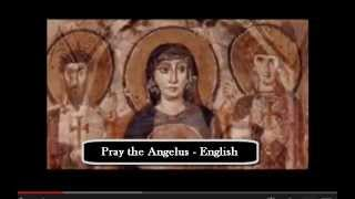 Pray the Angelus  English