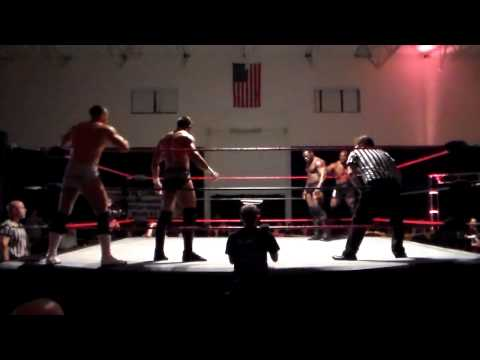Clutch Adams/Mike Spanos vs. Napalm/Solo WXWC4 Elite Tag Title Match 11/01/14 Part 1 of 2