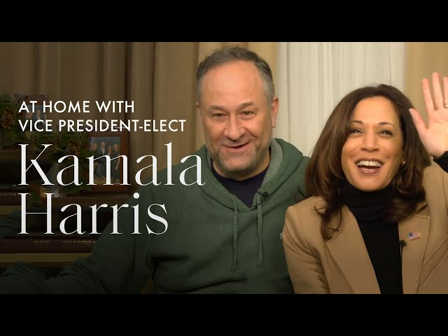 At-Home (on Zoom!) with Vice President-Elect Kamala Harris and Her Family Exclusive