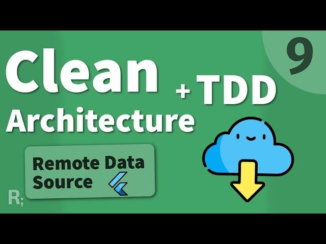 Flutter TDD Clean Architecture Course [9] – Remote Data Source