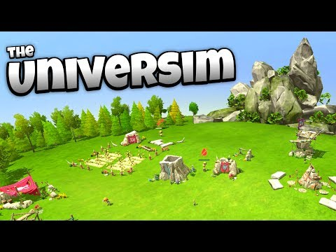 Universim - My Own Little Civilization! - Let's Play The Universim Gameplay