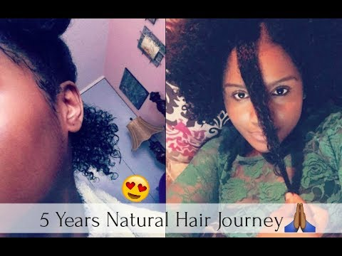 5 Years Natural Hair Journey