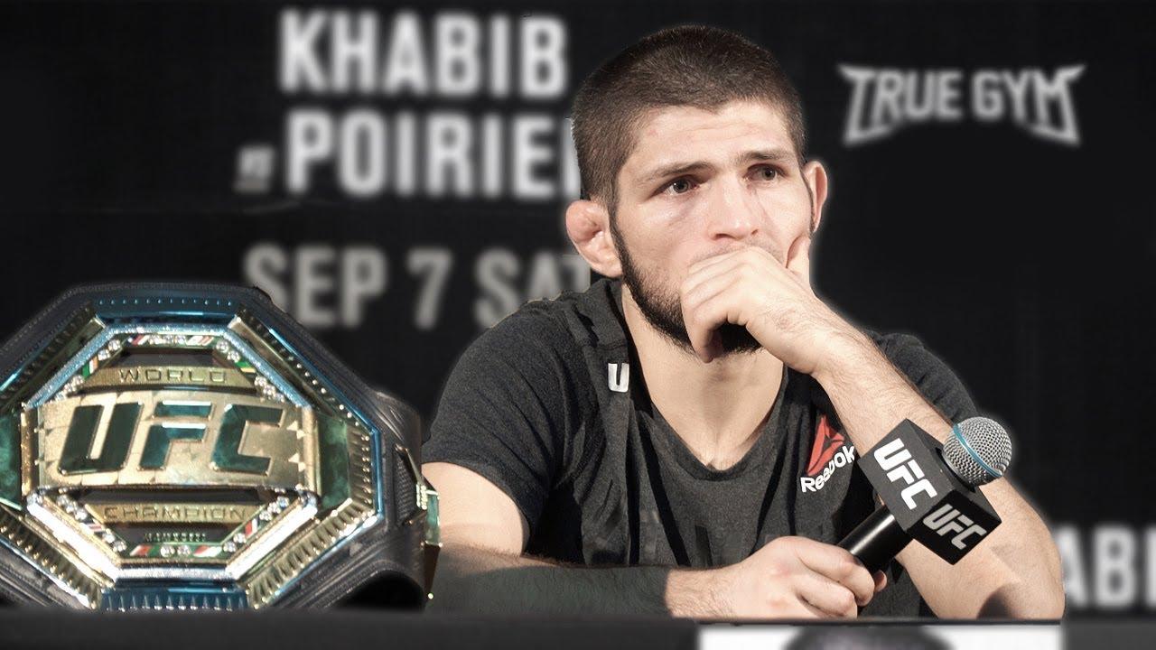 Я заслужил называться лучшим бойцом / Хабиб после боя против Порье на UFC 242