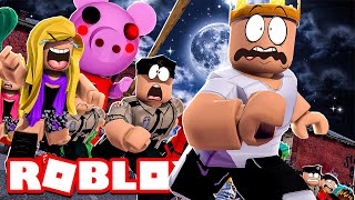 Piggy But It S 100 Players Roblox Piggy The Murderer Is In Love With Me