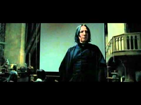 "Snape Moments 6 ""Turn To Page 394"" - YouTube"