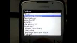 Manual Gprs Settings On Blackberry (no Blackberry Service Required)