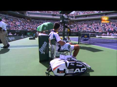 Richard Gasquet vs Novak Djokovic (Masters 1000 Indian Wells 2011) Partido Completo / FULL MATCH