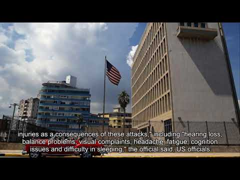 US halves Cuba diplomatic staff over mysterious 'attacks'