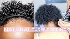 Watch Me Cut My Sisters Natural Hair + Revert & Define Her Curls (Short Hair)