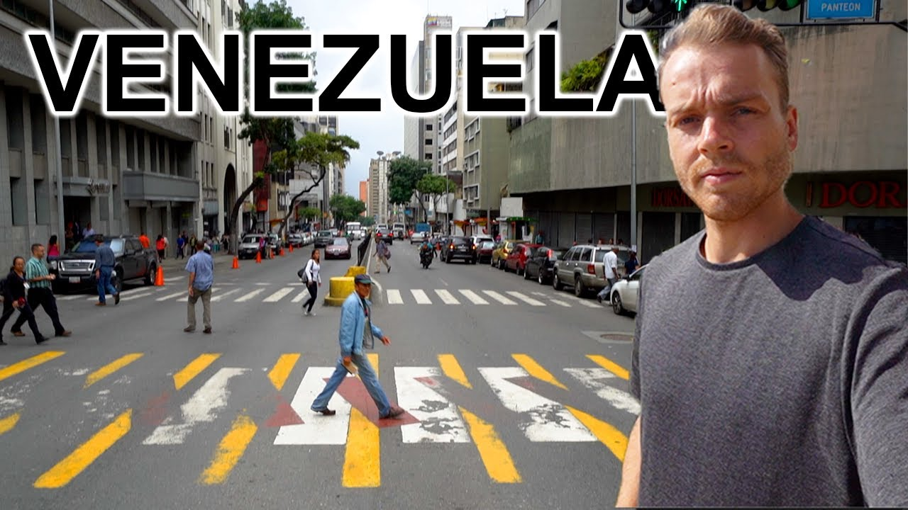 WALKING STREETS OF CARACAS, VENEZUELA (2019 Crisis Visible)