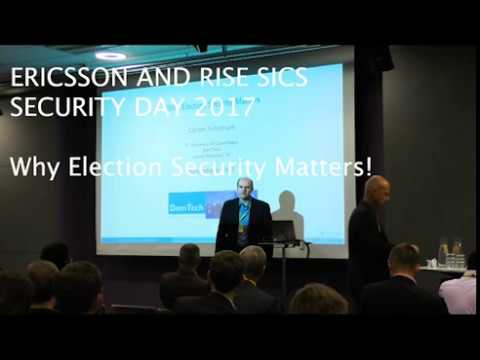 Why Election Security Matters - Carsten Schürmann