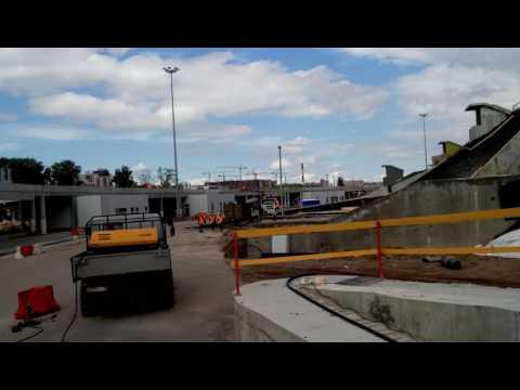 Saint Petersburg,construction of the Zenit stadium on Krestovsky island,4K