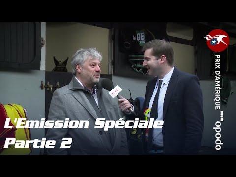 L'Emission Spéciale PRIX D'AMERIQUE OPODO 2016 2/4 - (C3, C4 et C5)