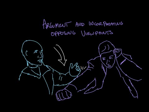 Incorporating opposing viewpoints | Reading | Khan Academy