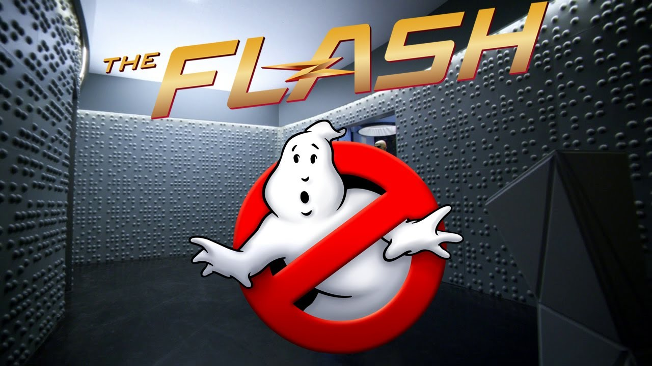 Found A Flash Reference In The Roblox Game Speed Run 4 Flashtv - Ghostbusters References In The Flash